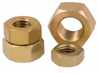Brass screw nut
